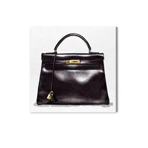 """Oliver Gal Handbag Canvas & Wood Art - Size 12"""" x 12"""" x 1.5""""  neutral  unisex  size:12"""" x 12"""" x 1.5"""""""