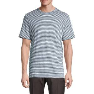 Theory Men's Essential Striped T-Shirt - Blue - Size S  Blue  male  size:S