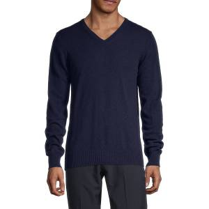 J. Lindeberg Men's Merino-Wool & Cashmere Sweater - Grey - Size S  Grey  male  size:S