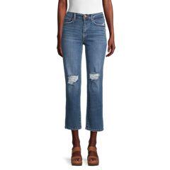 Kensie jeans Women's High-Rise Slim Fit Jeans - Blue - Size 28 (6)  Blue  female  size:28 (6)