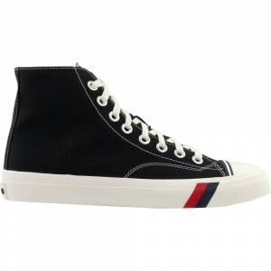 Pro-Keds Royal Hi High Top Sneakers  - Black - Men - Size: 8 D