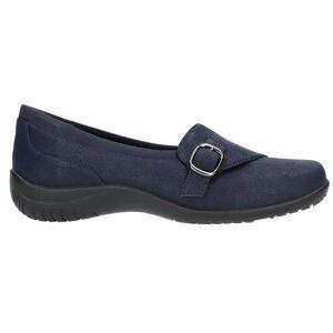 Easy Street Cinnamon Slip On Flats  - Blue - Women - Size: 6 2E