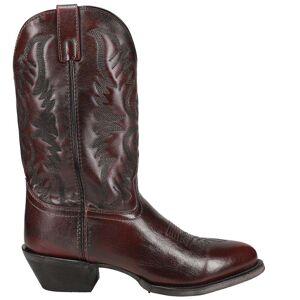 Laredo Birchwood Lizard Round Toe Cowboy Boots  - Brown - Men - Size: 15 2E