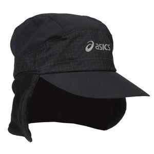 ASICS Second Wind Fleece Cap  - Black - Men - Size: Small