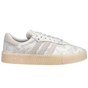 adidas Sambarose Platform Sneakers  - White - Women - Size: 9 B