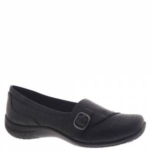 Easy Street Cinnamon Women's Black Slip On 8 W