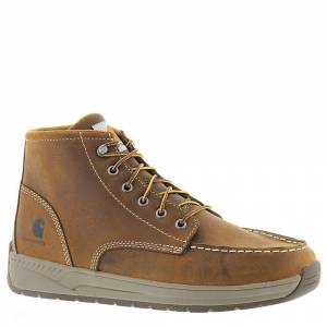 "Carhartt CMX4023 4"" Lightweight Wedge Men's Brown Boot 11.5 W"