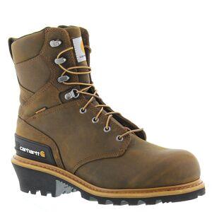 """Carhartt CML8360 8"""" Composite Toe Climbing Men's Brown Boot 9 M"""