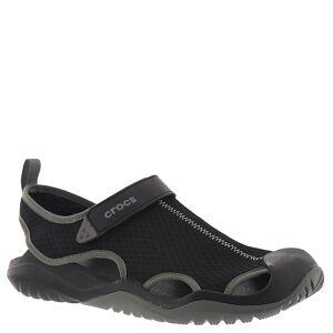 Crocs Swiftwater Mesh Deck Sandal Men's Black Sandal 13 M
