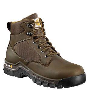 "Carhartt Rugged Flex 6"" Steel Toe Boot Men's Brown Boot 10.5 W"