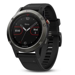 Garmin Fenix 5 Sapphire Multisport Watch  - Black - Size: One Size