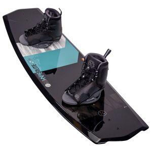 Hyperlite Men's State 2.0 Wakeboard with Remix 7-10.5 Bindings '21  - Black - Size: 130 cm w/ 7-10.5 Bindings