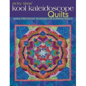 C & T Publishing Ricky Tims Kool Kaleidoscope Quilts by Ricky Tims