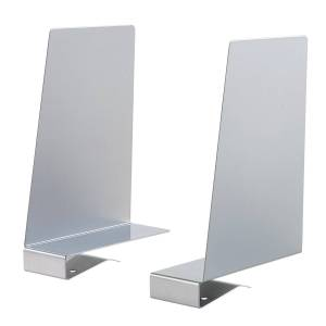 Solid Shelf Book Supports