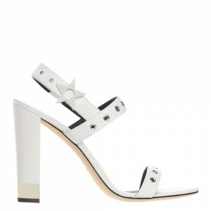 Giuseppe Zanotti White Leather Kalamity Sandals Size EU 37
