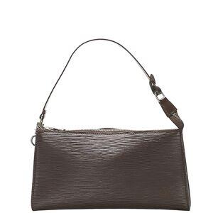 Louis Vuitton Brown Epi Leather Pochette Accessoires Bag