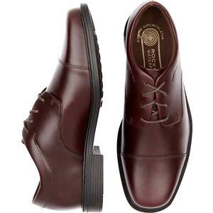 Rockport Men's Ellingwood Burgundy Red Waterproof Lace Up Casual Shoes - Size: 8 D-Width