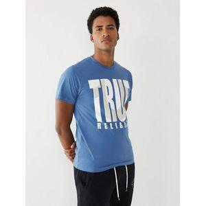 True Religion Men's True Logo Tee   Monsoon   Size X Small   True Religion