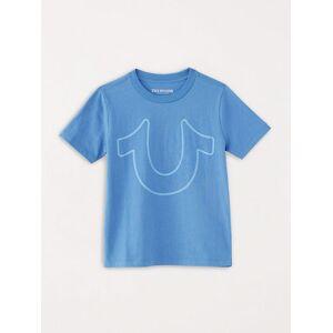 True Religion Men's Boys Horseshoe Logo Tee   Monsoon   Size Medium   True Religion