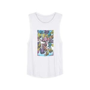 Sleeveless Knit - Artbyjuju Mon Multi in Brown/White/Yellow by VIDA Original Artist  - Size: Extra Large