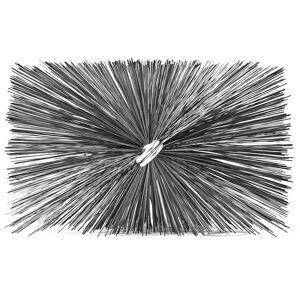 A.W. Perkins Professional Series Rectangular Chimney Brush