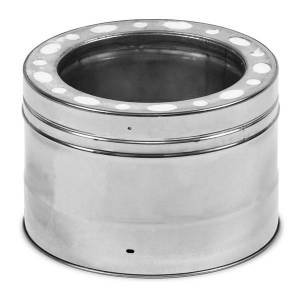 """Champion 6"""" Champion 316L Stainless Steel Chimney Pipe - 6"""" length"""