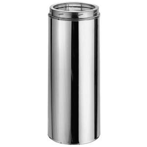 """DuraVent 5"""" DuraTech Stainless Steel Chimney Pipe- 24"""" length"""