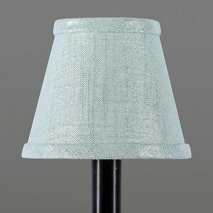 Ballard Designs Metallic Linen Chandelier Shade Spa - Ballard Designs