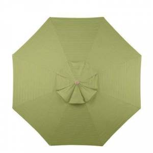 Ballard Designs 11' Patio Umbrella Replacement Canopy Canvas Beige Sunbrella - Ballard Designs