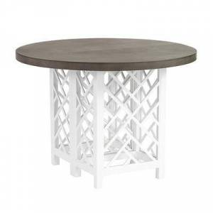 Ballard Designs Miles Redd Bermuda Round Dining Table - Ballard Designs