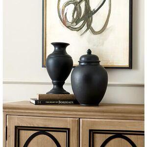 Ballard Designs Suzanne Kasler French Bisque Lamp Slips - Black - Ballard Designs