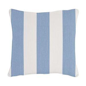 "Ballard Designs ""Outdoor Throw Pillow Canopy Stripe Granite/White 20"""" x 20"""" - Ballard Designs"""