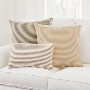 """Ballard Designs """"Alder Striped Pillow Gray 12"""""""" x 20"""""""" - Ballard Designs"""""""