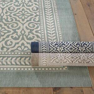 """Ballard Designs """"Suzanne Kasler Florette Indoor/Outdoor Rug Mocha 3' 11"""""""" x 5' 7"""""""" - Ballard Designs"""""""