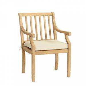 Ballard Designs Madison Armchair Replacement Cushion Canvas Azure Sunbrella - Ballard Designs