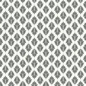 Ballard Designs Little Leaf Wallpaper Taupe - Ballard Designs