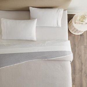 Ballard Designs Silvie Gauze Reversible Coverlet Queen - Ballard Designs