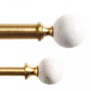 Ballard Designs Set of 2 Carina Drapery Finials - Ballard Designs