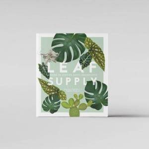 """Bloomist """"Bloomist Leaf Supply: A Guide to Keeping Happy Houseplants Book, 8.5"""""""" x 1.15"""""""" x 10"""""""" / 256 pages"""""""