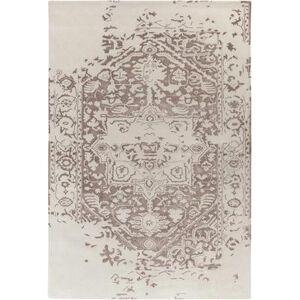 Hauteloom Casanova 12' x 15' Updated Traditional 60% Wool/40% Viscose Ivory/Cream Area Rug - Hauteloom