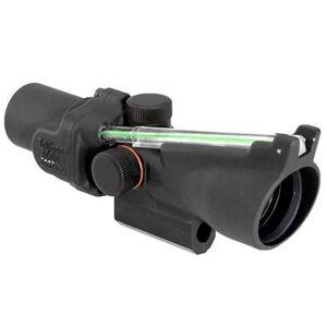 Trijicon Acog 2x20mm Rifle Scope - 2x20mm Green Crosshair M16 Acog, Black