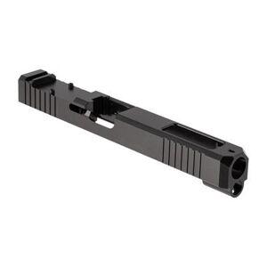 Brownells Rmr Cut Slide For Glock 34 - Rmr Slide + Window For Glock 34 Gen 3 Ss Nitride