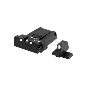 L.P.A. Sights Beretta Adjustable Sight Set - Beretta Brigadier Adjustable Sight Set