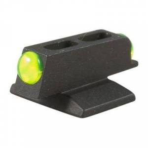 Novak 1911 Mega Dot Fiber Optic Front Sights - Mega Dot Fiber Optic Front Sight Green