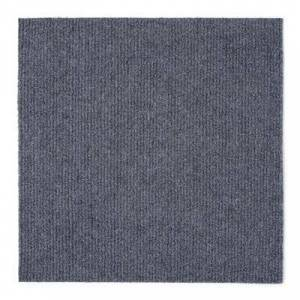 "Achim Home Dcor ""Nexus 12"""" x 12"""" Self Adhesive Carpet Floor Tile - 12 Tiles/12 sq. Ft. by Achim Home Dcor in Grey"""
