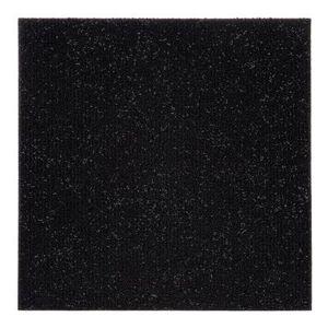 "Achim Home Dcor ""Nexus 12"""" x 12"""" Self Adhesive Carpet Floor Tile - 12 Tiles/12 sq. Ft. by Achim Home Dcor in Black"""