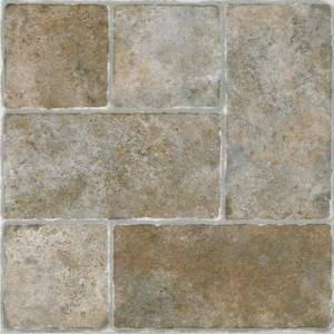 "Achim Home Dcor ""Nexus 12"""" x 12"""" Self Adhesive Vinyl Floor Tile by Achim Home Dcor in Granite"""