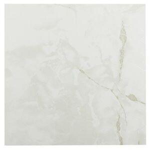 "Achim Home Dcor ""Sterling 12"""" x 12"""" Self Adhesive Vinyl Floor Tile by Achim Home Dcor in Classic White"""