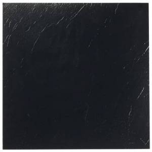 "Achim Home Dcor ""Sterling 12"""" x 12"""" Self Adhesive Vinyl Floor Tile by Achim Home Dcor in Black"""