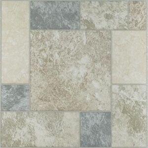 "Achim Home Dcor ""Nexus 12"""" x 12"""" Self Adhesive Vinyl Floor Tile by Achim Home Dcor in Marble"""